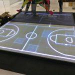 Sportboden aus Glas
