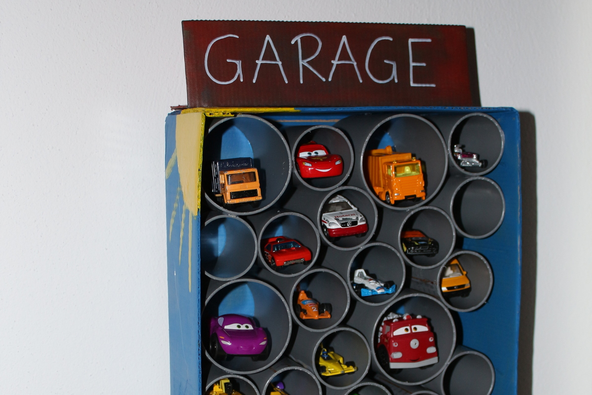 Matchbox-Garage