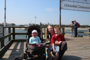 An der Seebrücke Zinnowitz