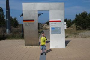Die Europapromenade Deuschland - Polen